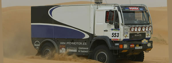 Avant Slot: Trois kits de camion Rallye Raid pour le slot