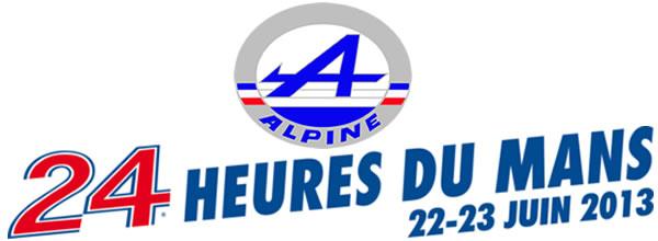 Alpine aux 24h du Mans 2013