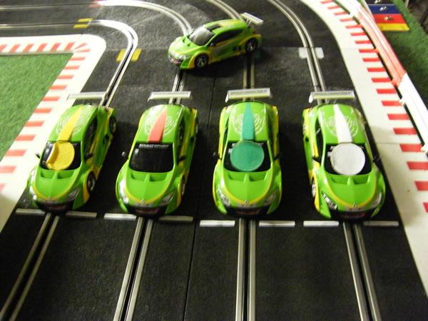 Les voitures de slot du Speed Trophy 2013