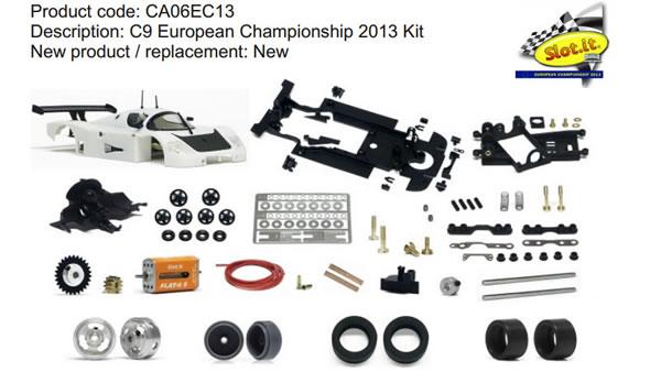 CA06EC13 C9 European Championship 2013 Kit