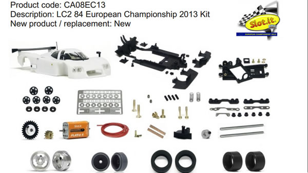 CA08EC13 LC2 84 European Championship 2013 Kit