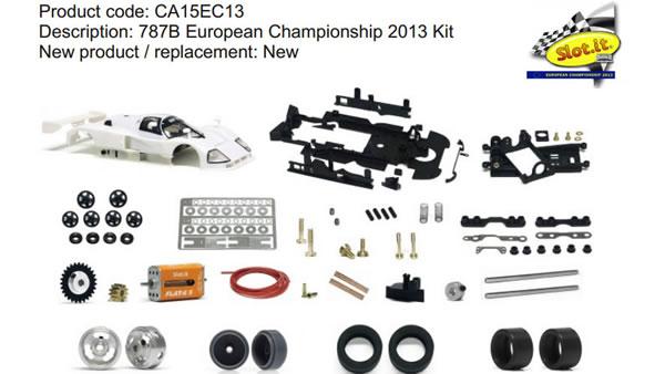 CA15EC13 787B European Championship 2013 Kit