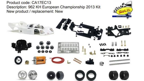 CA17EC13 962 KH European Championship 2013 Kit