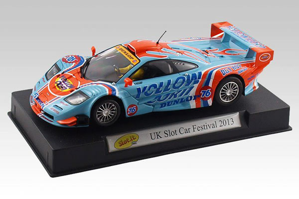 Slot.it - McLaren F1 GT-R spéciale UK Slot Festival
