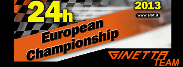 Team Ginetta Championnat d'Europe Slot it 2013