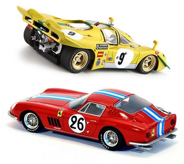 La Ferrari 512S et la Ferrari 275 GTB
