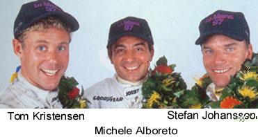 Les pilotes victorieux au 24H du Mans en 1997