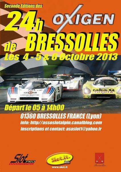 Les 24H de Bressolles 2013