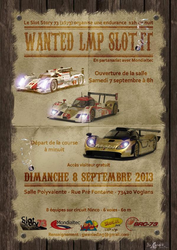 Affiche Wanted LMP Slot It
