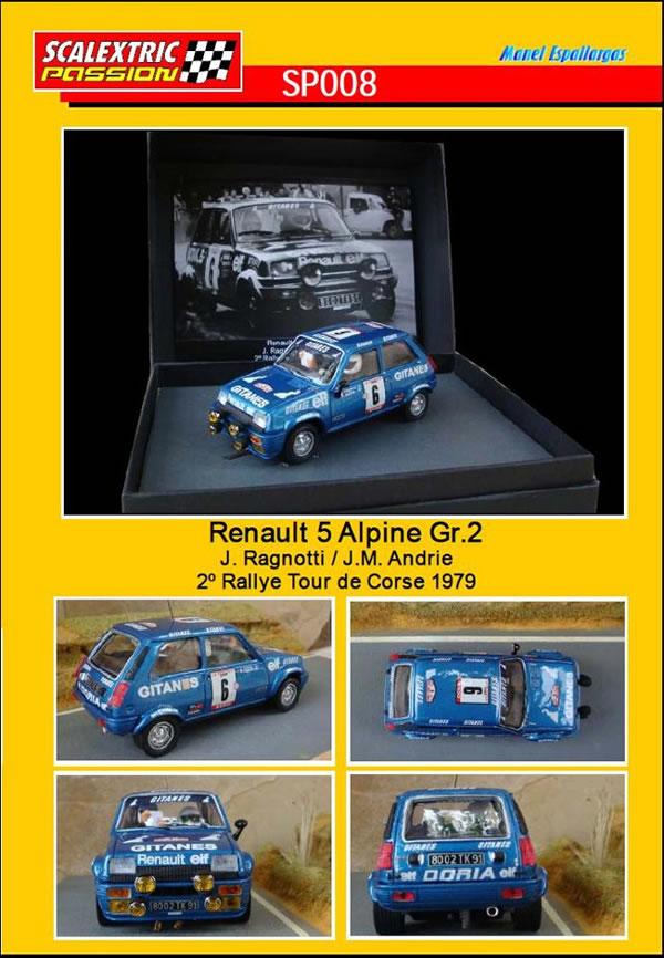 Scalextric Passion - Une Renault 5 Alpine GR2