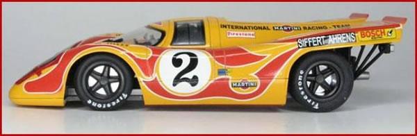 Porsche 917K BRM décoration Shell