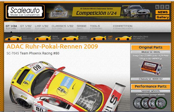 Site internet Scaleauto