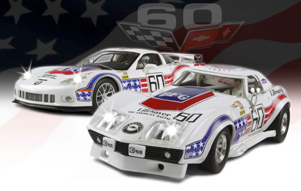 Coffret Corvette Scalextric 60th
