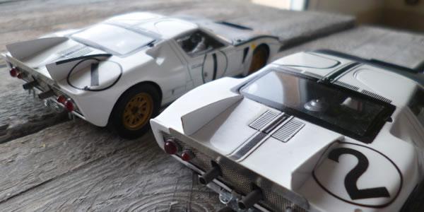 Ford MK2 n°1 et 2
