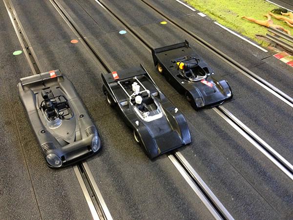 Matra MS670B, McLaren M8D et Ferrari 312 PB Policar le trio Classic de Slot it