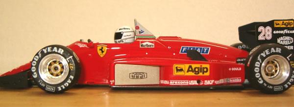 Ostorero: la Ferrari 156 de Réné Arnoux pour le slot