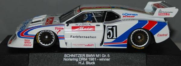 Sideways BMW M1 Gr.5 Nurburgring DRM 1981 Schnitzer