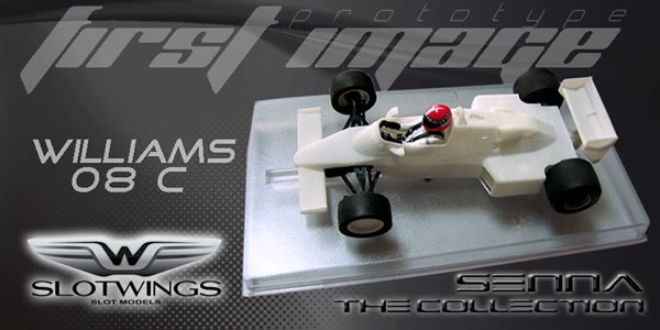 Slotwings - Williams FW08C SENNA