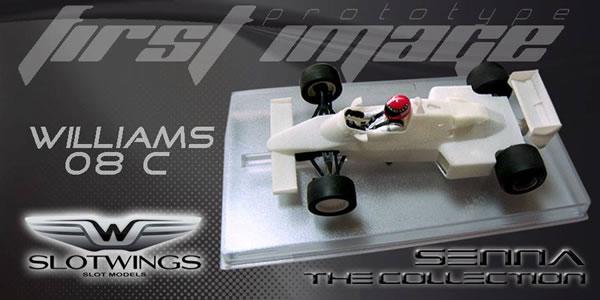 Slotwings - Williams FW08C SENNA