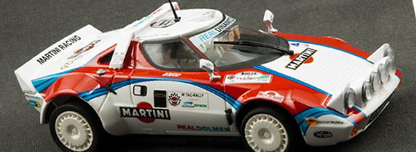 TeamSlot: Une Lancia Stratos HF pour le Rallye Slot