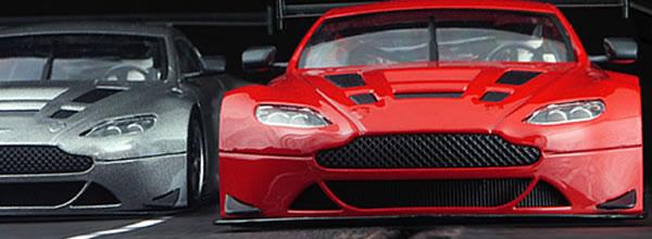 NSR des détails sur l'Aston Martin Vantage