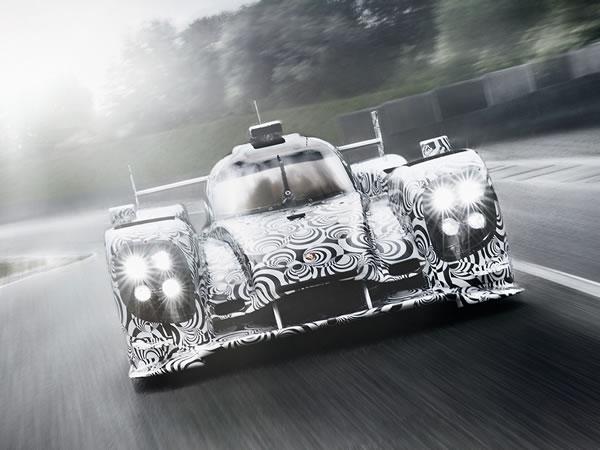 24h du Mans 2014 Porsche présente sa LMP1