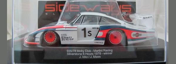 Sideways Porsche 935-78 Moby Dick Martini SW20