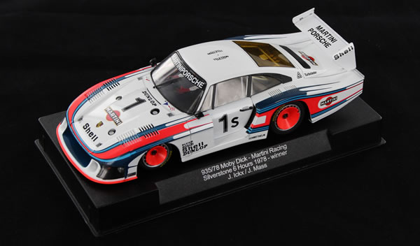 Sideways Porsche 935-78 Moby Dick Martini SW20