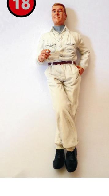 Bernd Rosemeyer, figurine Le Mans miniatures ref FLM118013