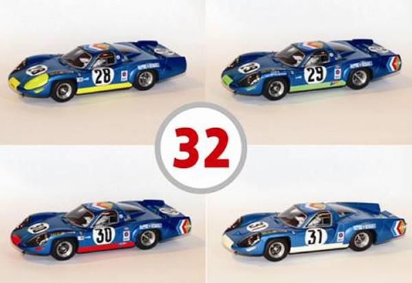 Collection Alpine A220 Le Mans miniature