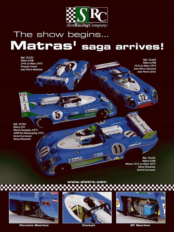 La Saga Matra 670B SRC annoncée