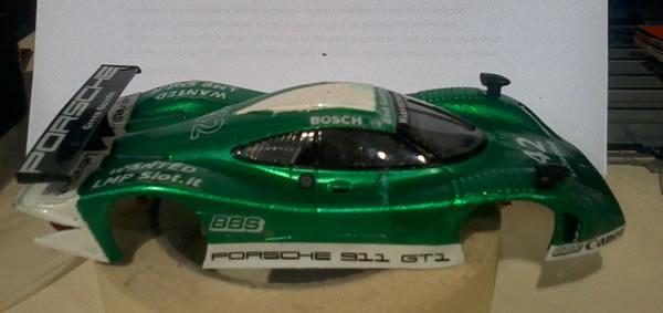 La Porsche GT1 de la Green Gazette