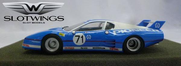 Slotwings: La marque annonce deux Ferrari 512 BB