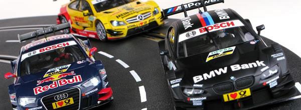 Carrera Des voitures de slot DTM pour nos circuits