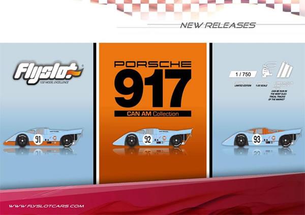 FlySlot Collection Porsche 917 Can AM