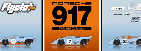 FlySlot Des nouveautés et une collection Porsche 917 Can AM