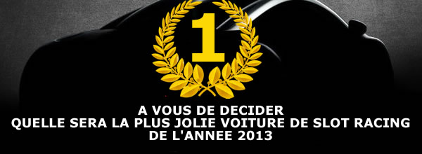 LetratSlot Election de la plus jolie voiture de slot de l'année