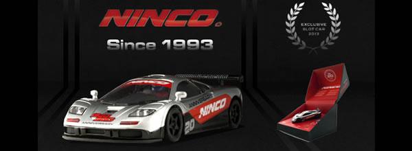 Ninco Fête ses 20 ans avec un coffret McLaren F1 GTR