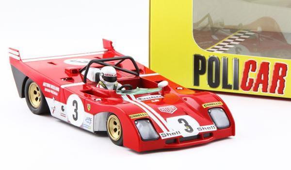 Policar  la Ferrari 312PB (CAR01A) est annoncée