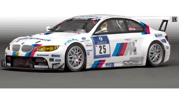 Scaleauto Une nouvelle BMW M3 GT2 à l'échelle 1/24