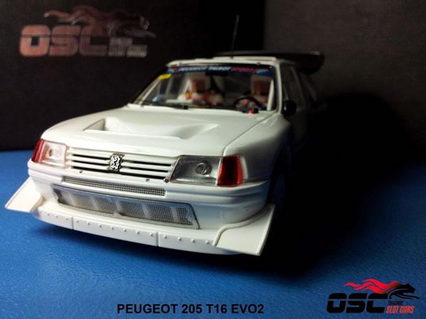 OSC Les photos de la Peugeot 205 T16 EVO2