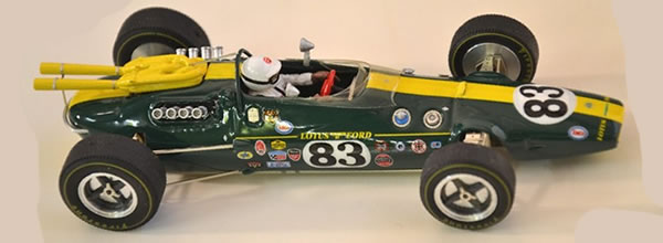 Ostero Relance sa collection de Lotus Type 38