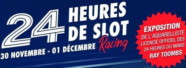 SRC Le Mans les 24H du Mans Slot Racing 2013