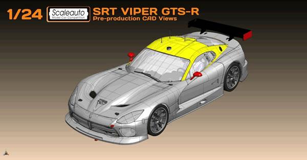 Scaleauto Présente sa SRT Viper GTS pour le slot