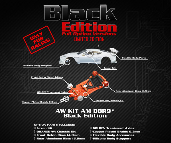 Le Kit Black Edition Black Arrow