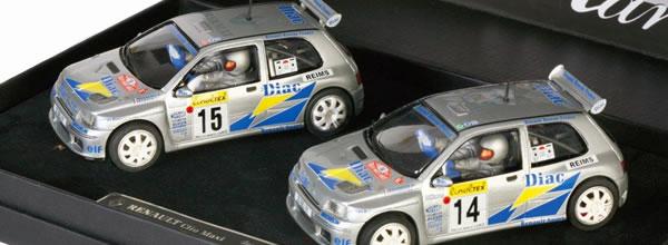 Maralic: Des Renault Clio Maxi de 1995 à collectionner