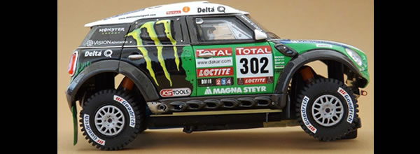 Slot Art: Des kits Mini All4 Racing pour le Rallye Slot
