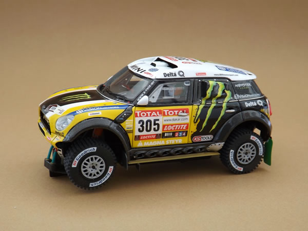 Slot Art Des kits Mini All4 Racing pour le Rallye Slot