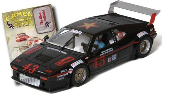 FlySlot La BMW M1 Brown Team Racing de 1984