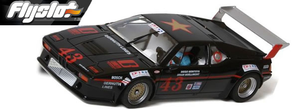 FlySlot La BMW M1 Brown Team Racing de 1984